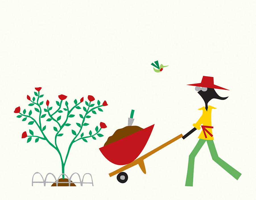 Chic Gardener Everyday Card
