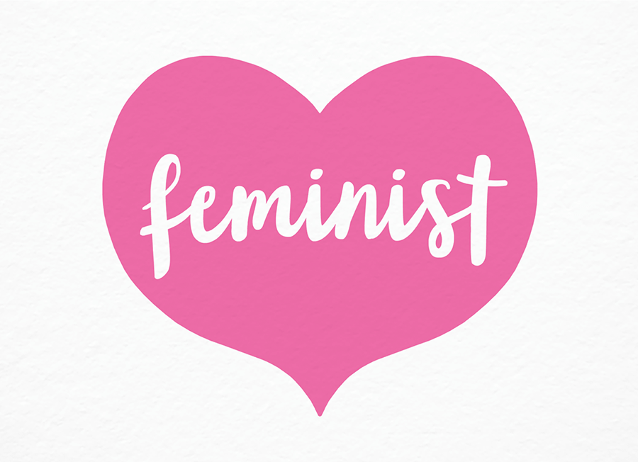 Feminist Heart Political Postcards