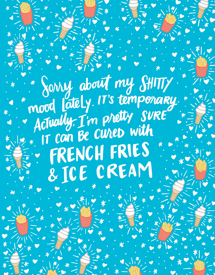French Fries & Ice Cream