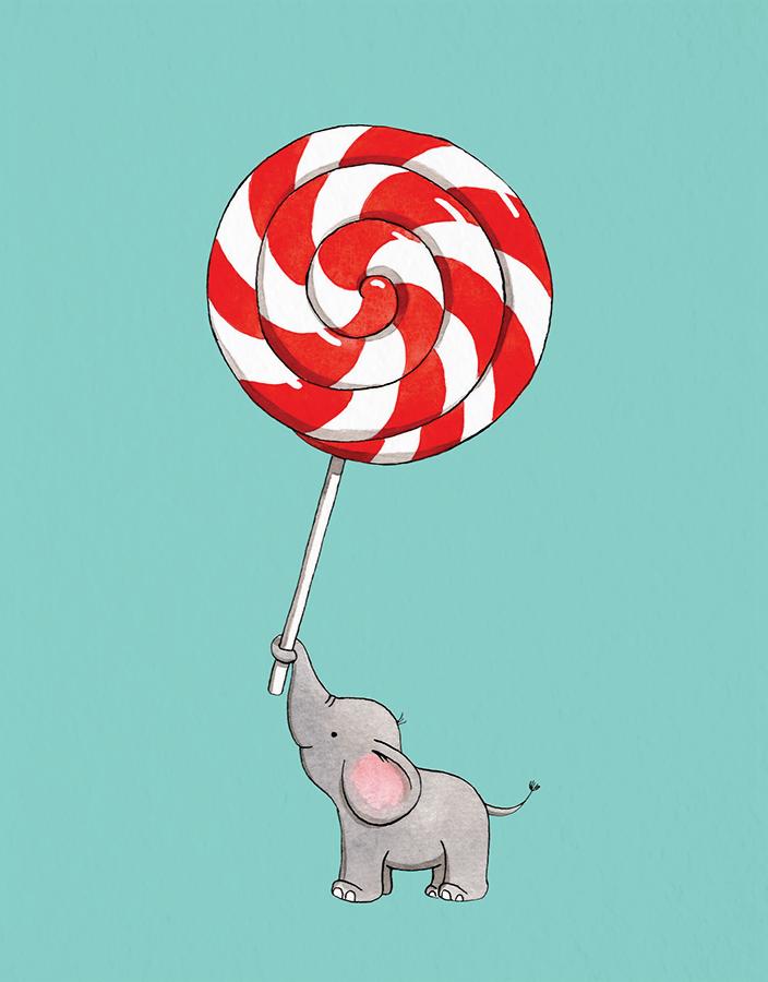 Elephant Lollipop