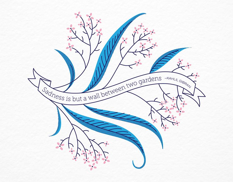 Gibran Sympathy Card