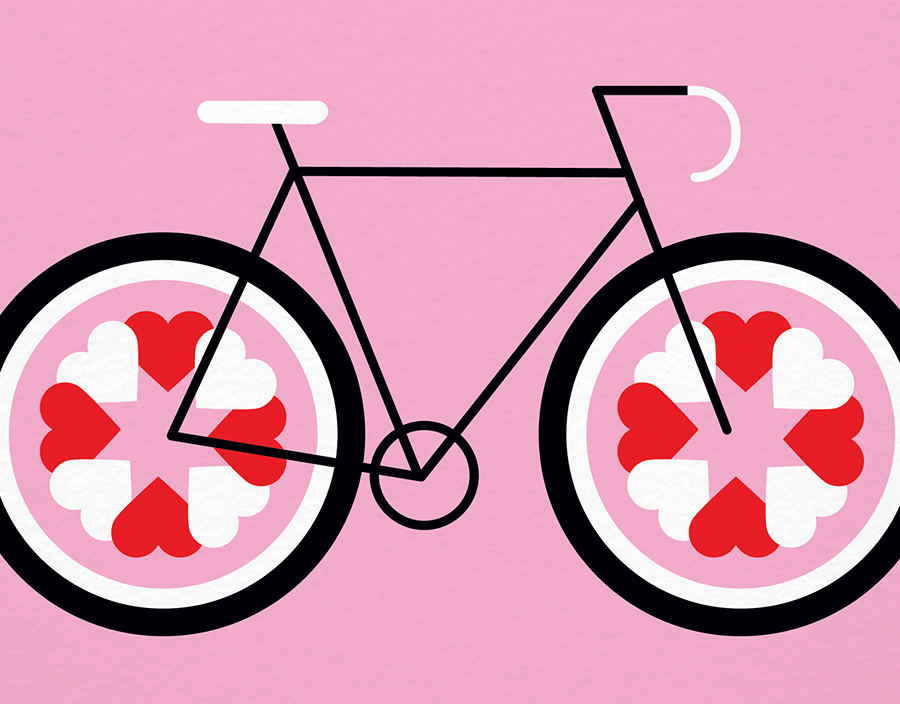 Love Cycle By Silas Tom Postable