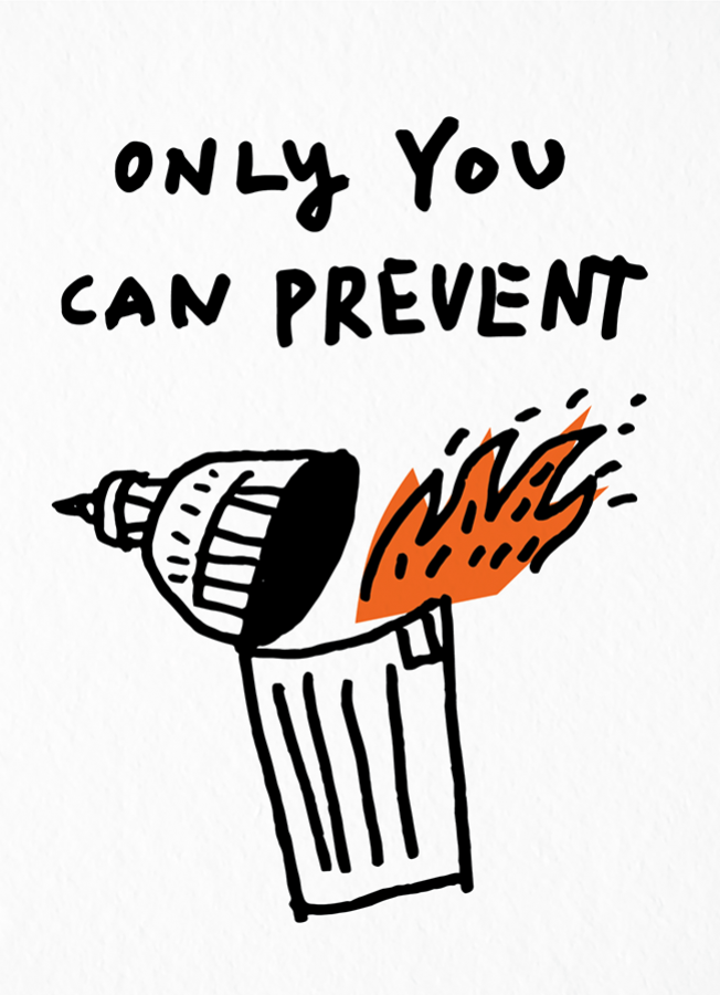 prevent-disaster-political-postcard