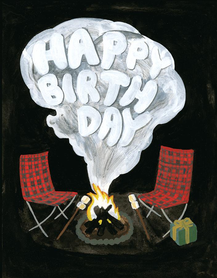 Campfire Birthday