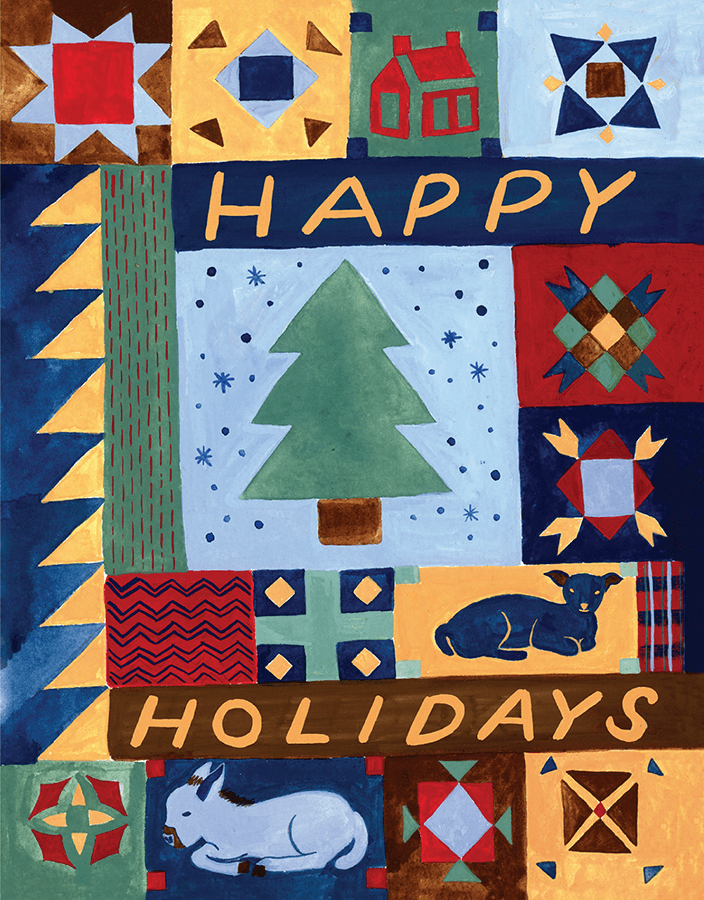 Happy Holidays Quilt