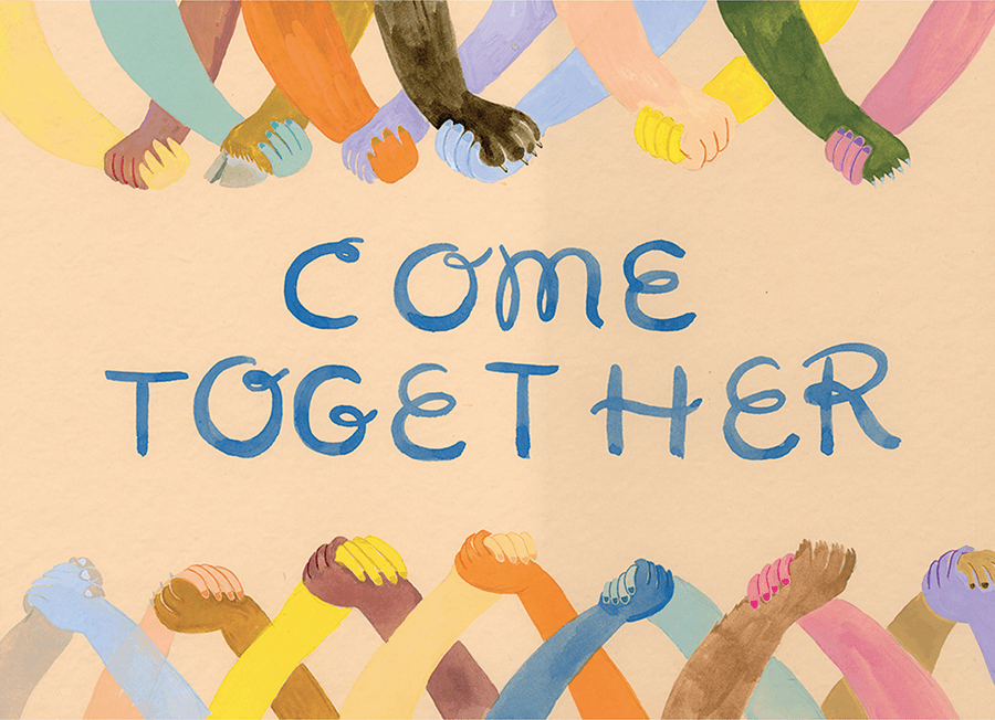 come-together-postcard