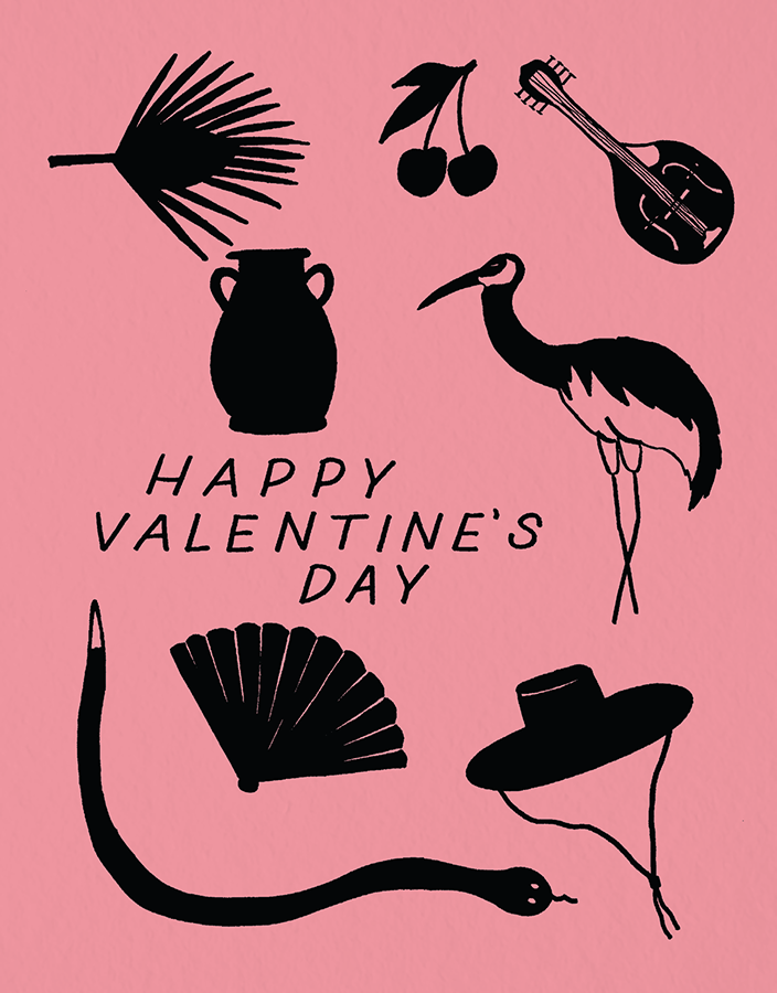 Silhouette Valentine
