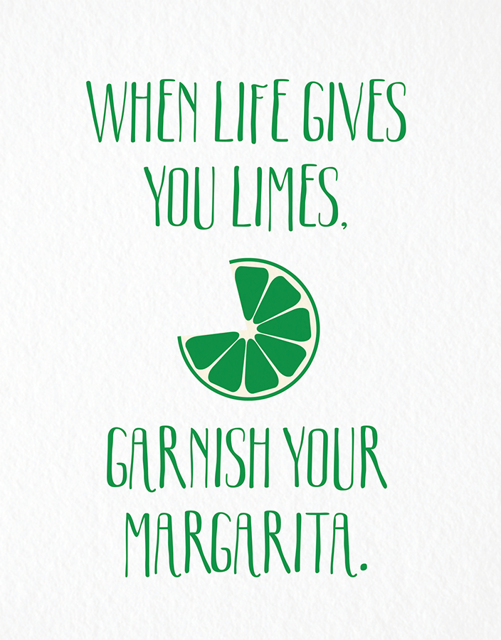 Funny When Life Gives You Limes Card