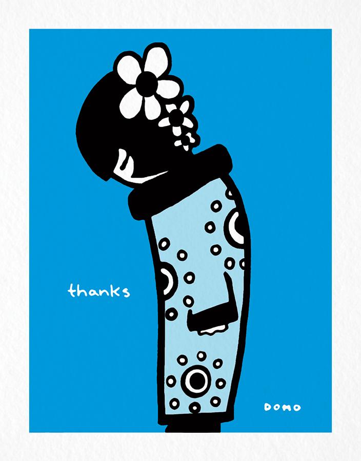 Domo Thank You Card