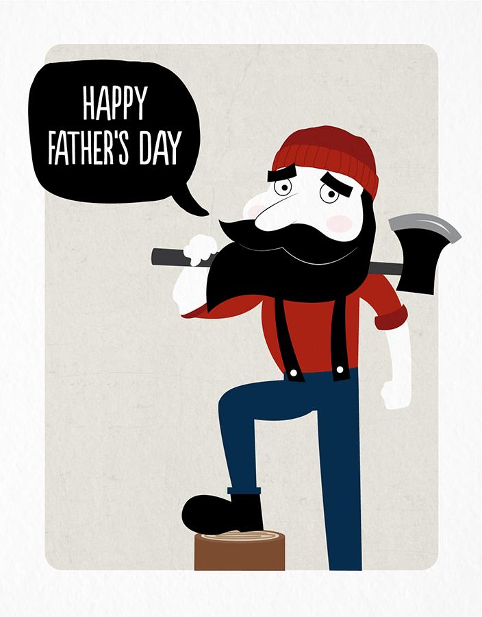 Lumberjack Dad