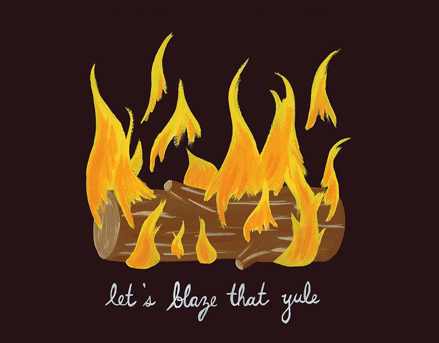 Blaze That Yule