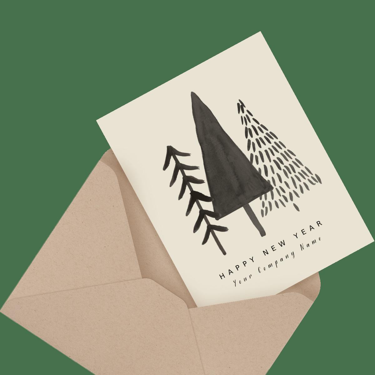 kilim business stationery card