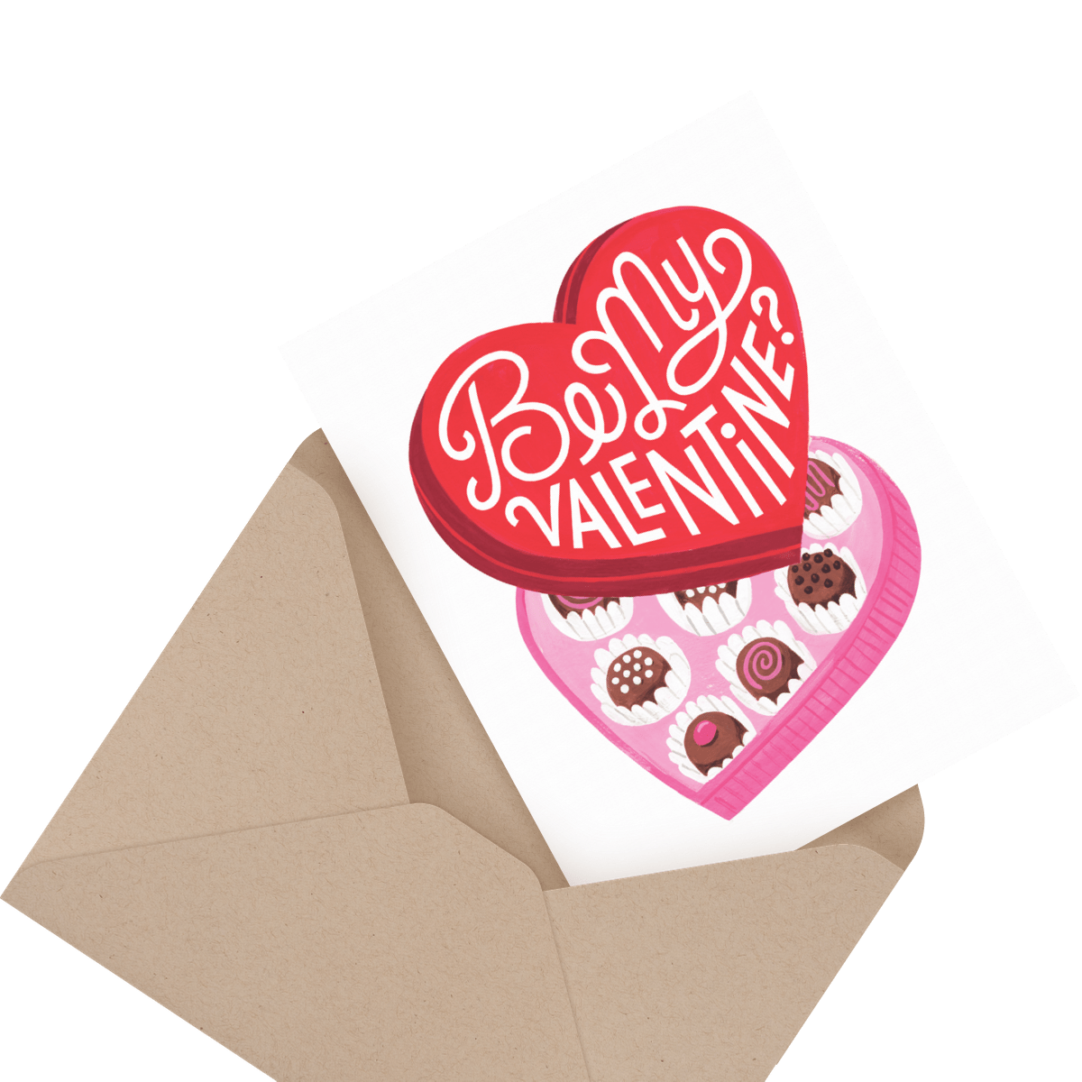 adorable puppy valentine's day card