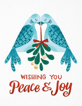 Peace & Joy Doves