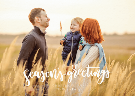 Season's Greetings Script