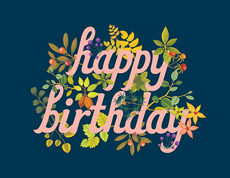 Birthday cards mailed for you postable navy happy birthday card bookmarktalkfo Image collections