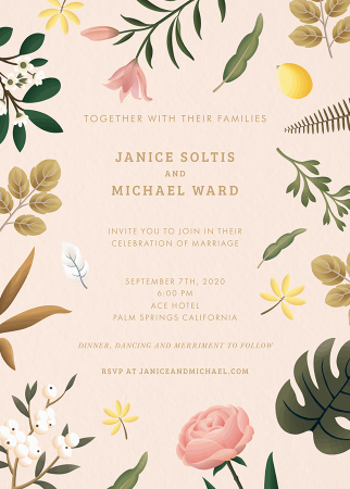 Delicate Floral Wedding