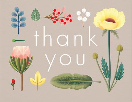 Organic Garden Thank You