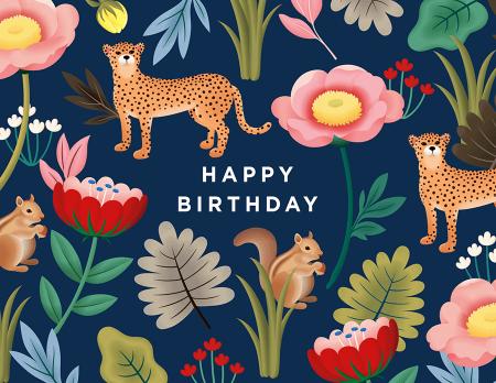 Navy Jungle Birthday
