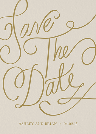 custom save the dates mailed for you postable