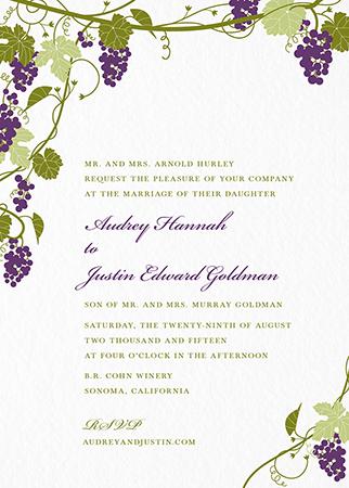 Bordeaux Invitation