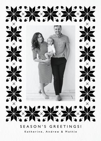 Snowflake Pattern Photo