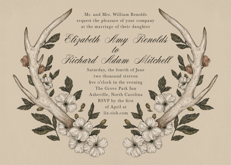 Antler Invitation
