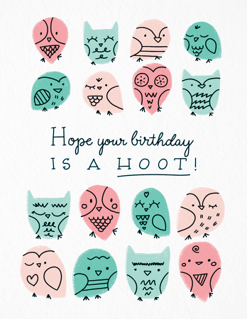 Birthday Hoot