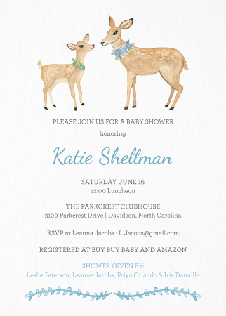 Baby Shower Invites Mailed For You Postable