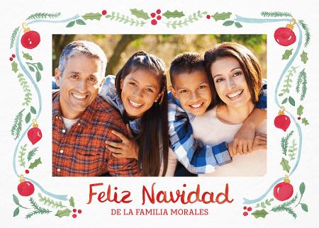 Feliz Navidad Ornaments