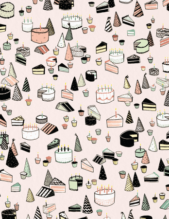 Birthday Cake Pattern