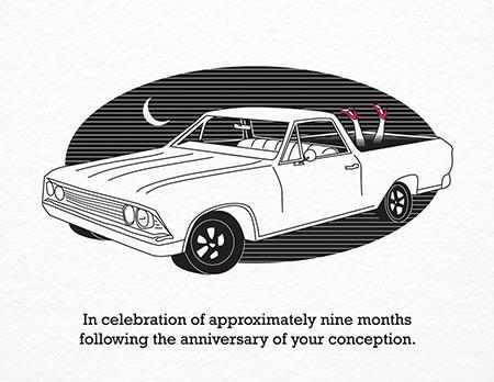 Smartass Birthday Card