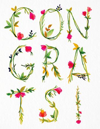 Botanical Congrats
