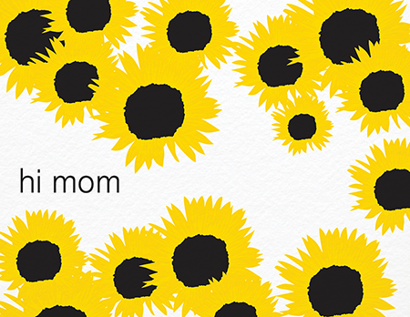 Pretty Sunflowers Mother's Day Card