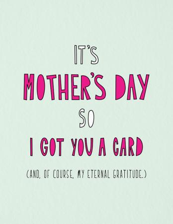 Eternal Gratitude Mom