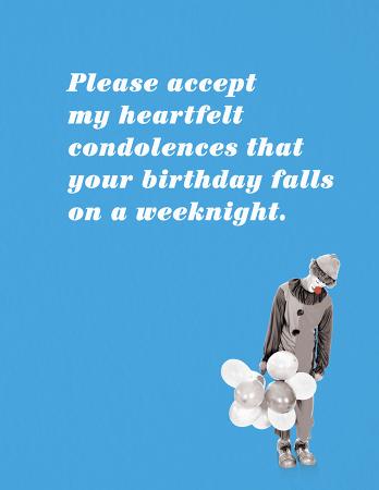 Weeknight Birthday