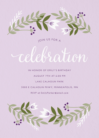 kids birthday party invitations mailed for you postable