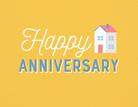 Yellow Home Anniversary