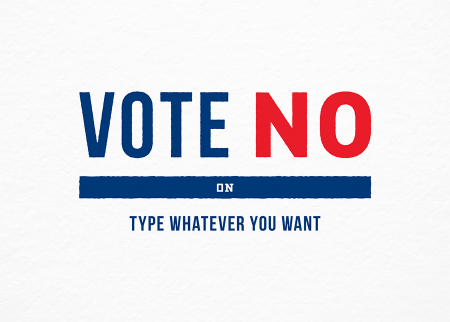 vote-no-political-postcard