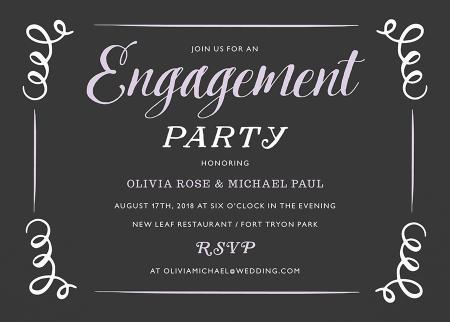 Vintage Engagement Party