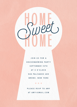 New Home Invite