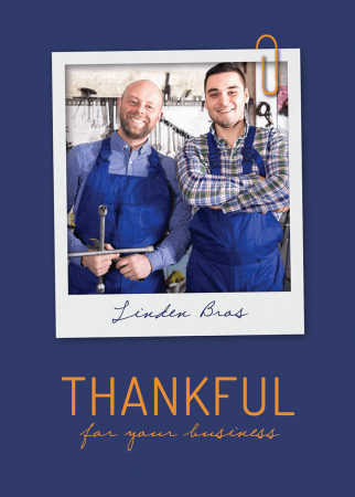 Thankful For Your Business