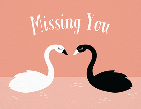 picture about Printable Miss You Cards identified as I Skip Your self Playing cards Postable