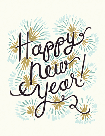 Happy New Year by Rifle Paper Co. | Postable