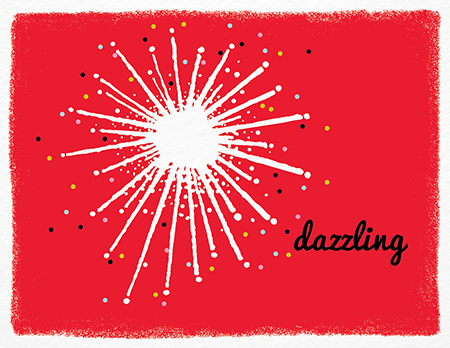 Dazzling Star Stationery