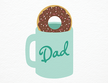 Mug Father's Day Card