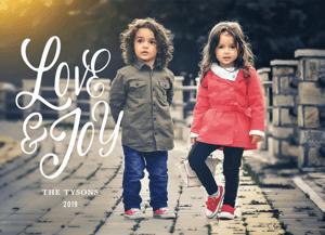 Love & Joy Script
