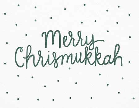 Merry Chrismukkah Card