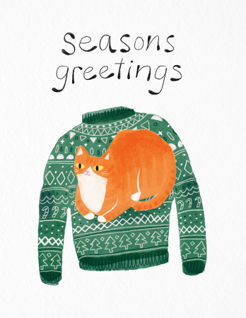 Seasons Greeting Sweater