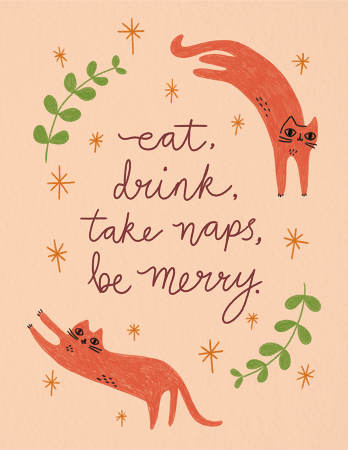 Take Naps, Be Merry